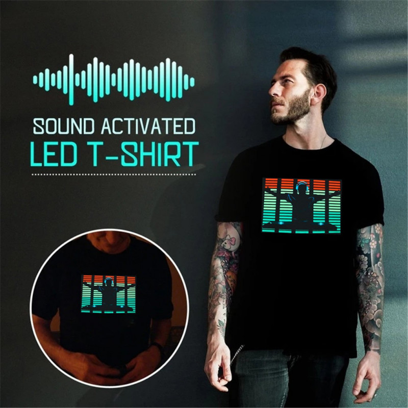 Sound Activated T-Shirt