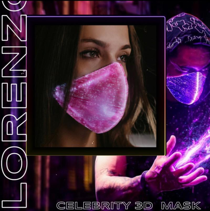 Celebrity 3D mask